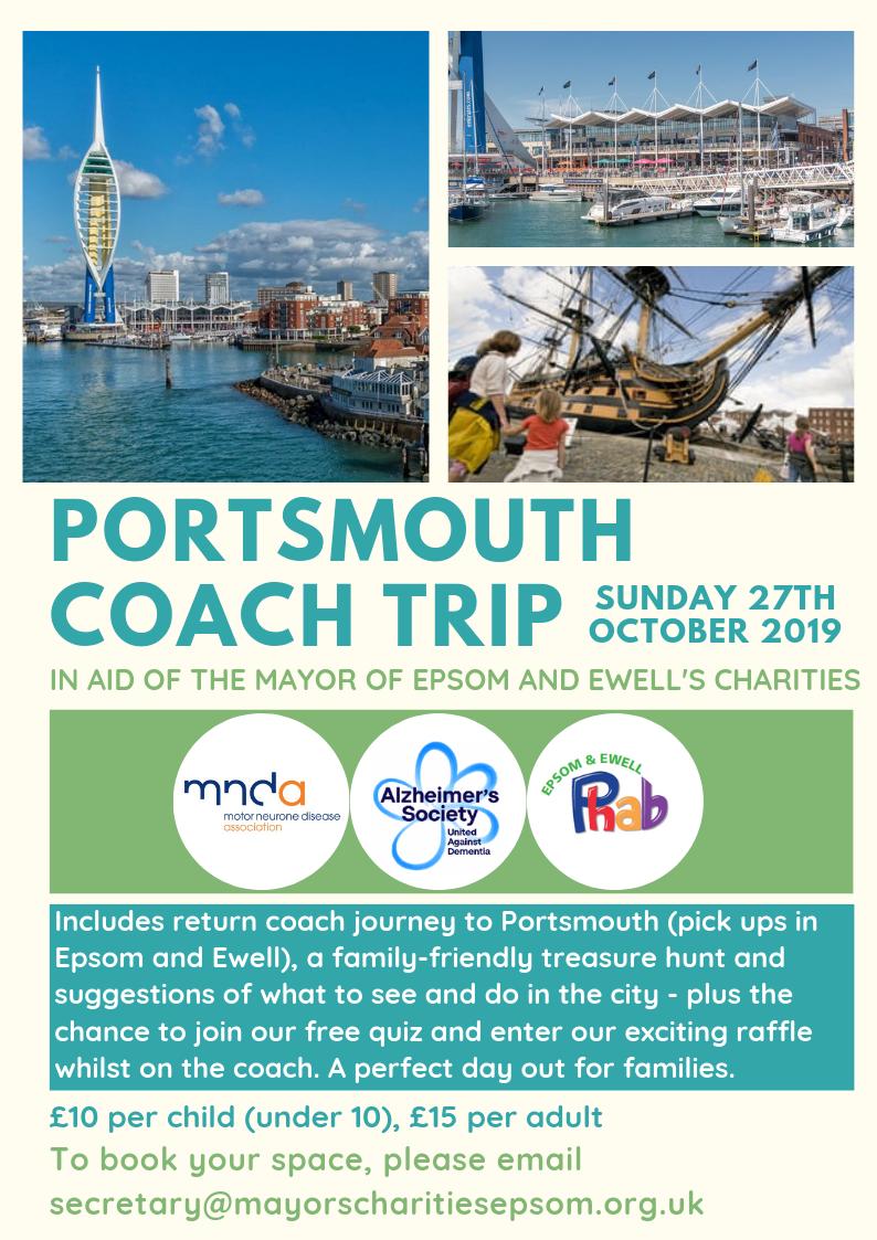 Portsmouth coach trip