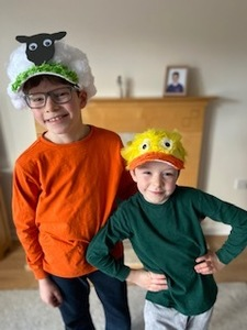 Easter hat competition william and harry
